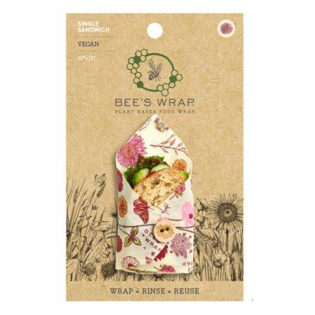"""Bee's Wrap sandwich """"Meadow Magic"""" 2 stk. - Vegansk"""