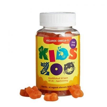 Kids Zoo Vegansk Omega-3 Algeolie
