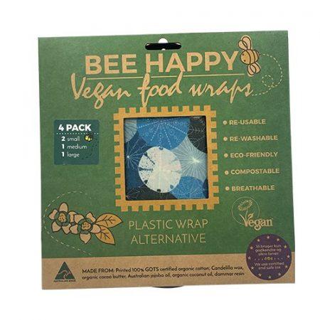 Vegan Food Wraps - 4 pak