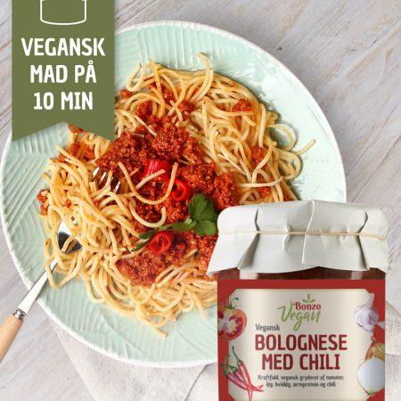 Vegansk Bolognese med chili
